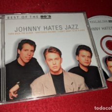CD di Musica: JOHNNY HATES JAZZ BEST OF THE 80'S CD 2000 DISKY EU. Lote 144288822