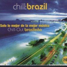 CDs de Música: CHILL: BRAZIL (ESPAÑA, 2002. 2 × CD, COMPILATION). Lote 144291178