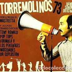 CDs de Música: TORREMOLINOS 73 -BSO LIBRO-CD -POP BEAT GARAGE DR EXPLOSION TONY RONALD . Lote 144352258