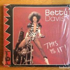 CDs de Música: BETTY DAVIS: THIS IS IT!. Lote 144357144