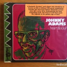 CDs de Música: JOHNNY ADAMS: HEART & SOUL. Lote 144357326