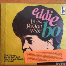 CDs de Música: EDDIE BO: IN THE POCKET WITH. Lote 144357537