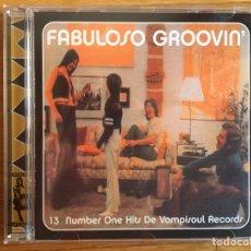 CDs de Música: FABULOSO GROOVIN: BILLY PRESTON, LAST POETS, RAY BARRETO, JOE CUBA, JOE BATAAN, EDDIE PALMIERI.... Lote 144358216