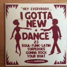 CDs de Música: ...I GOTTA NEW DANCE: JOE BATAAN, BETTY DAVIS, THE VIBRETTES, FANIA ALL STARS.... Lote 144358608