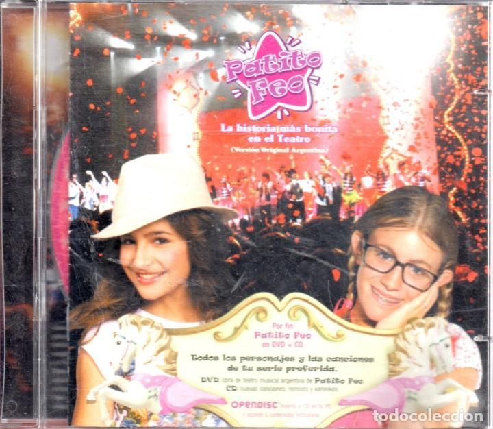 VESIV 2 CDS PATITO FEO ALA HISTORIA MAS BONTA EN EL TEATRO VERSION ORIGINAL ARGENTINA 1 CD Y 1 DVD (Música - CD's Otros Estilos)