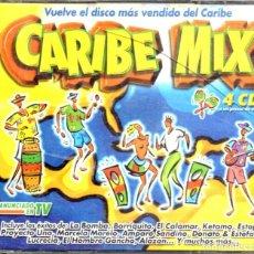 CDs de Música: VESIV CD 4 CDS CARIBE MIX . Lote 144371686