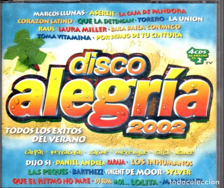 VESIV CD 4 CDS DISCO ALEGRIA 2002 (Música - CD's Otros Estilos)
