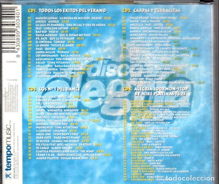 CDs de Música: VESIV CD 4 CDS DISCO ALEGRIA 2002 - Foto 2 - 144372010