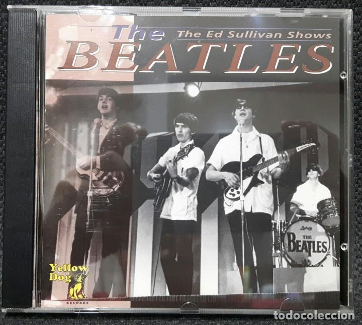 Beatles The Ed Sullivan Shows Cd Yellow D Sold At Auction 144375306