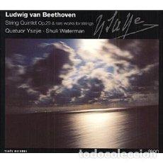 CDs de Música: BEEETHOVEN - CUARTETOS DE CUERDA Y QUINTETO DE CUERDA (CD) QUATOR YSAYE. Lote 144452862
