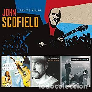 JOHN SCOFIELD - 3 ESSENTIAL ALBUMS (3 CDS) QUIET/WORKS FOR ME/LIVE ON ROUTE (VERVE) (Música - CD's Jazz, Blues, Soul y Gospel)