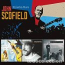 CDs de Música: JOHN SCOFIELD - 3 ESSENTIAL ALBUMS (3 CDS) QUIET/WORKS FOR ME/LIVE ON ROUTE (VERVE). Lote 144481182