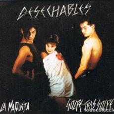CDs de Música: DESECHABLES – LA MAQUETA / GOLPE TRAS GOLPE CD PUNK ROCK. Lote 144482510
