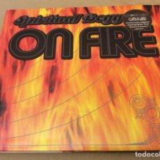 CDs de Música: SPIRITUAL BEGGARS ON FIRE. ED DIGIPACK.BONUS TRACK. 2002.. Lote 144499794