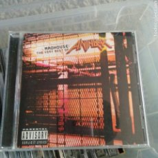 CDs de Música: ANTHRAX - MADHOUSE: THE VERY BEST OF ANTHRAX. Lote 144347172