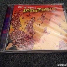 CDs de Música: INDEFINITS--PER NO CAURE--ROCK. Lote 144512146