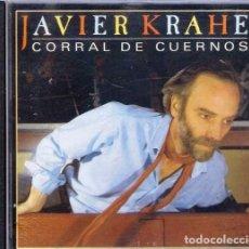 CDs de Música: JAVIER KRAHE - CORRAL DE CUERNOS. Lote 144543766