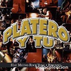 CDs de Música: PLATERO Y TU - HAY MUCHO ROCK'N ROLL - RESUMEN. Lote 144544842