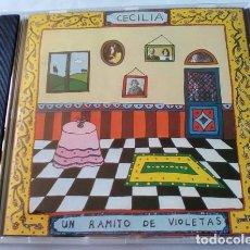 CDs de Música: CECILIA - UN RAMITO DE VIOLETAS. Lote 144554306