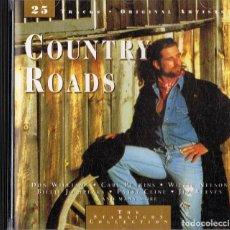 CDs de Música: COUNTRY ROADS . Lote 144564810