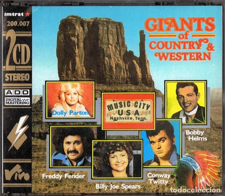 GIANTS OF COUNTRY & WESTERN ( 2 CD) (Música - CD's Country y Folk)