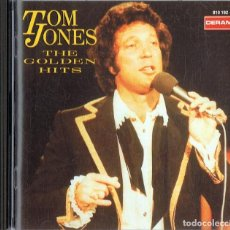 CDs de Música: TOM JONES THE GOLDEN HITS . Lote 144570094