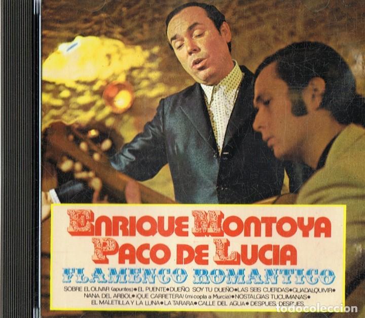 ENRIQUE MONTOYA & PACO DE LUCIA FLAMENCO ROMANTICO (Música - CD's Flamenco, Canción española y Cuplé)