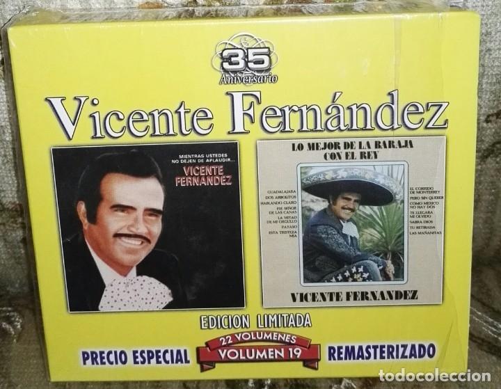 VICENTE FERNANDEZ SERIE LIMITADA 35 ANIVERSARIO VOLUME 19 2 CD (Música - CD's Otros Estilos)