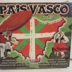 CDs de Música: PAIS VASCO - AIRES NORTEÑOS - 2 X CD - VARIOS GRUPOS - OK RECORDS - NUEVO. Lote 144613314