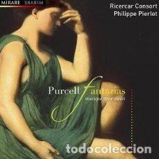 CDs de Música: HENRY PURCELL - FANTAZIAS, MUSICA PARA VIOLAS (CD) RICERCAR CONSORT. Lote 144707614