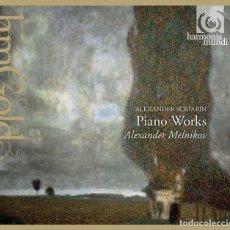 CDs de Música: ALEXANDER SCRIABIN - PIANO WORKS (CD) ALEXANDER MELNIKOV. Lote 144707766