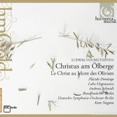 CDs de Música: BEETHOVEN - CHRISTUS AM ÖLBERGE (CD) PLACIDO DOMINGO, KENT NAGANO . Lote 144707934