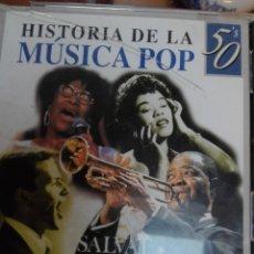 CDs de Música: HISTORIA DE LA MÚSICA POP SALVAT 45 CDS. Lote 144721122