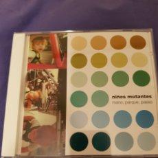 CDs de Música: CD NIÑOS MUTANTES. MANO, PARQUE, PASEO. Lote 144744709