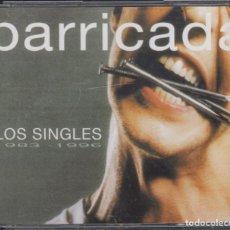 CDs de Música: BARRICADA DOBLE CD LOS SINGLES 1983-1996 EDICIÓN REMASTERIZADA 2000. Lote 144763102