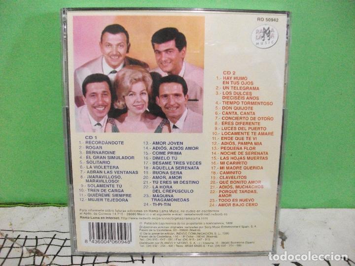 CDs de Música: LOS 5 LATINOS 1958-1960 VOL. 1 SUS PRIMEROS EPS EN ESPAÑA doble cd nuevo¡¡ pepeto - Foto 2 - 144770534