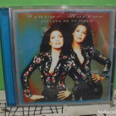 CDs de Música: CD ALBUM AZUCAR MORENO. ESCLAVA DE TU PIEL. PEPETO. Lote 144771058