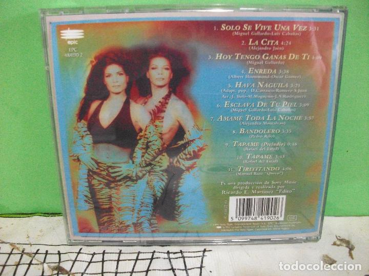 CDs de Música: CD ALBUM AZUCAR MORENO. ESCLAVA DE TU PIEL. PEPETO - Foto 2 - 144771058