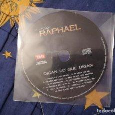 CDs de Música: CD RAPHAEL DIGAN LO QUE DIGAN. Lote 144778086