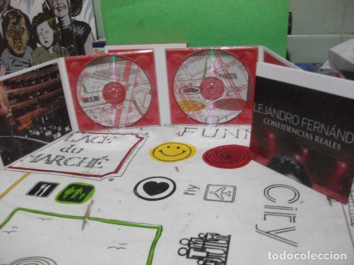 CDs de Música: ALEJANDRO FERNANDEZ CONFIDENCIAS REALES DOBLE CD + DVD + POSTER TEATRO REAL DE MADRID PEPETO - Foto 3 - 144785878