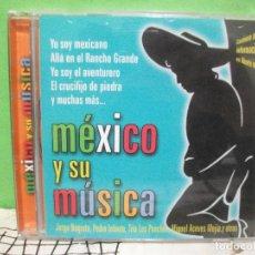 CDs de Música: MEXICO Y SU MUSICA JORGE NEGRETE , PEDRO INFANTE , ACEVES CD ALBUM NUEVO¡¡. Lote 144790710