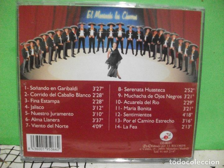 CDs de Música: GLADYS MERCADO Y SUS CHARROS soñando en garibaldi cd album nuevo¡¡ PEPETO - Foto 2 - 144791606