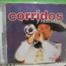 CDs de Música: CORRIDOS Y RANCHERAS CD ALBUM VARIOS. Lote 144792618