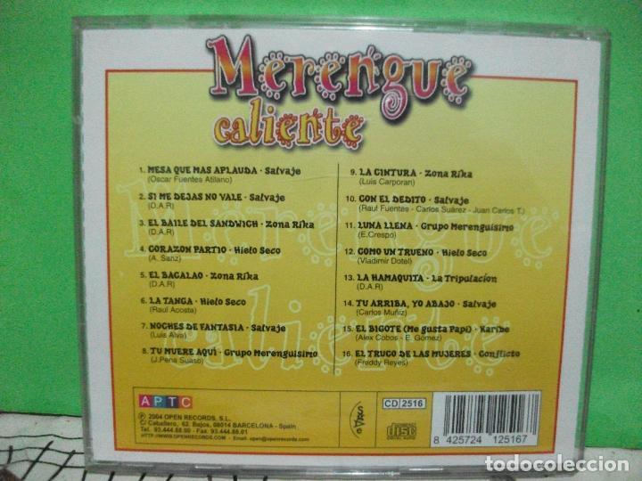 MERENGUE CALIENTE CD ALBUM 2004 VARIOS