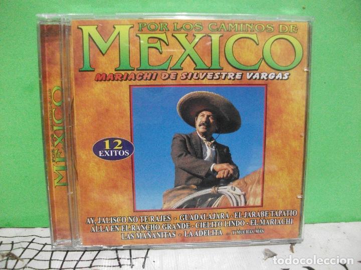 POR LOS CAMINOS DE MEXICO MARIACHI SILVESTRE VARGAS CD ALBUM NUEVO¡¡ PEPETO (Música - CD's Latina)