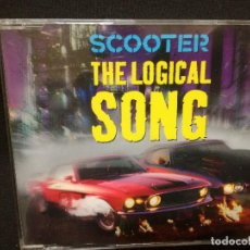 CDs de Música: CD MAXI - SCOOTER - THE LOGICAL SONG. Lote 180298262
