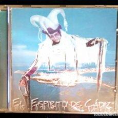CDs de Música: CD TINO TOVAR CARNAVAL CÁDIZ EL ESPÍRITU DE CÁDIZ COMPARSA. Lote 144804906