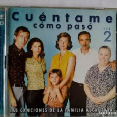 CDs de Música: CUENTAME COMO PASÓ VOL 2 2CD. Lote 144853058
