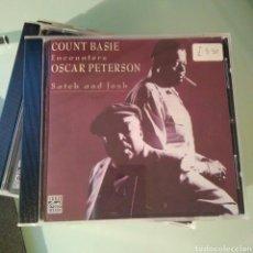 CDs de Música: OSCAR PETERSON AND COUNT BASIE – SATCH AND JOSH (RARO). Lote 144919934