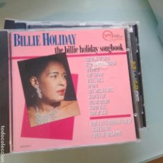 CDs de Música: BILLIE HOLIDAY – THE BILLIE HOLIDAY SONGBOOK. Lote 144972462
